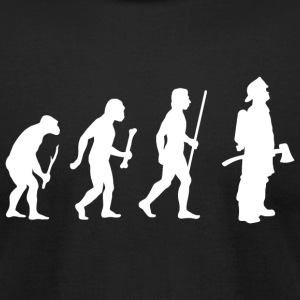 Fireman - Fireman Evolution - Men's T-Shirt by American Apparel