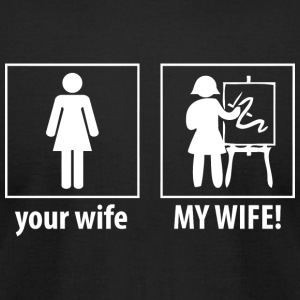 Artist - Your Wife, My Wife - Artist Shirt - Men's T-Shirt by American Apparel
