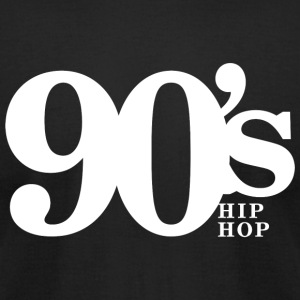 Hip Hop - 90's Old School Hip Hop Throwback Vin - Men's T-Shirt by American Apparel