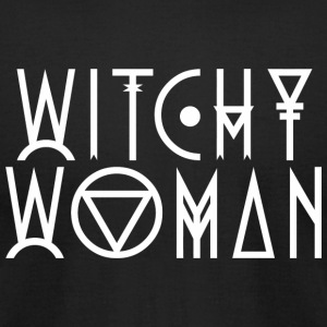 Witchy Woman - Witchy Woman - Men's T-Shirt by American Apparel