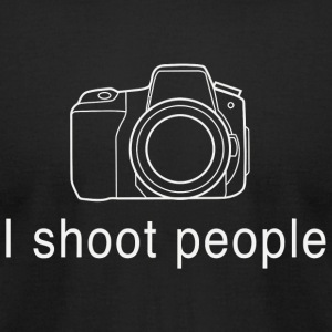 Photographer - I shoot people for photographers - Men's T-Shirt by American Apparel