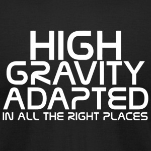 Mass effect - High gravity adapted in all the ri - Men's T-Shirt by American Apparel