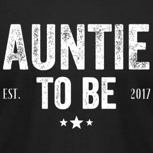 Aunt - Aunt To Be 2017 - Men's T-Shirt by American Apparel