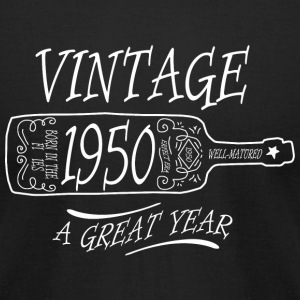 Vintage - vintage 1950 a great year - Men's T-Shirt by American Apparel
