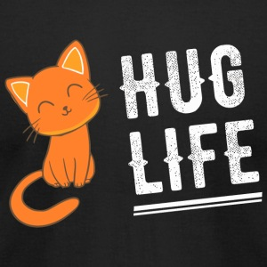 Kitty - Hug Life Kitty - Kitten Kitteh Cat - Men's T-Shirt by American Apparel