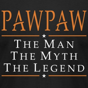 Pawpaw - Pawpaw The Man The Myth The Legend - Men's T-Shirt by American Apparel