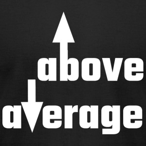 Cocky - Above Average - Men's T-Shirt by American Apparel