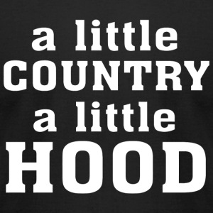 Hood - A little Country A little Hood - Men's T-Shirt by American Apparel