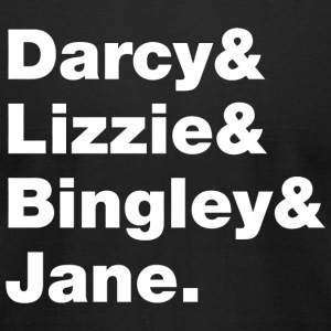 Elizabeth benneth - Darcy - Men's T-Shirt by American Apparel