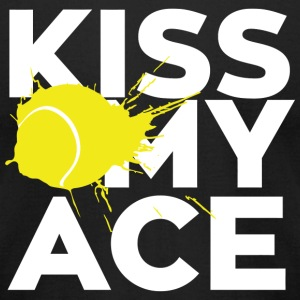 Kiss - kiss my ace - Men's T-Shirt by American Apparel
