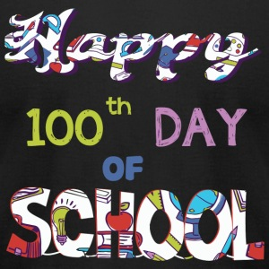 10th Day Of School - Happy 10th Day Of School T - Men's T-Shirt by American Apparel