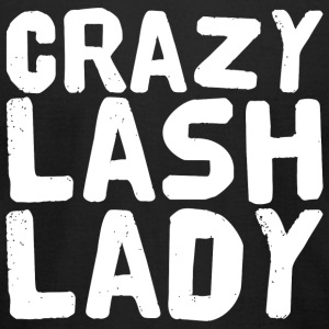 Eyelashes Crazy Lash Lady Be Younique Eyelashe - Men's T-Shirt by American Apparel