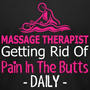 Massage Therapist - Massage Therapist Getting Ri - Men's T-Shirt by American Apparel