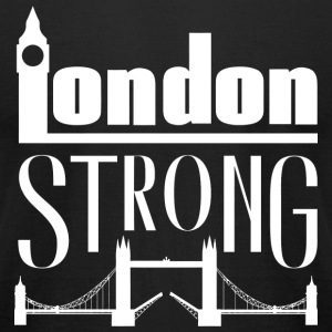 London - London Strong - Men's T-Shirt by American Apparel