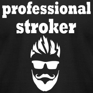 Beard - Beard - Professional Stroker - Men's T-Shirt by American Apparel