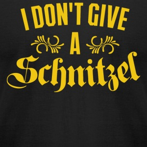 Schnitzel - I Don't Give A Schnitzel - Men's T-Shirt by American Apparel