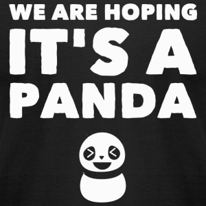 Panda - We are hoping it's a panda panda - Men's T-Shirt by American Apparel