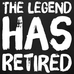 Retired - The legend has retired - Men's T-Shirt by American Apparel