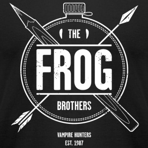 Frog - The Frog Brothers - Men's T-Shirt by American Apparel