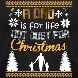Dad - A Dad Is For Life Not Just For Christmas S - Men's T-Shirt by American Apparel