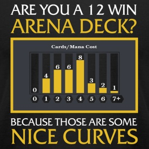 12 Win Arena Deck - 12 win Arena deck - Those ar - Men's T-Shirt by American Apparel