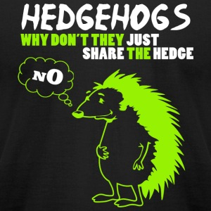 Hedgehog - Hedgehogs - Men's T-Shirt by American Apparel