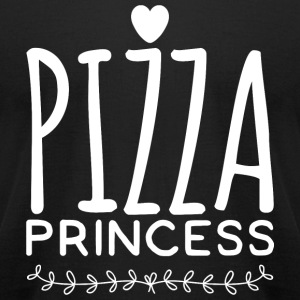 Pizza - Pizza Princess - Men's T-Shirt by American Apparel