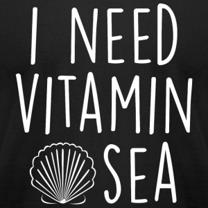 Mermaid - Sassy | I Need Vitamin Sea - Men's T-Shirt by American Apparel