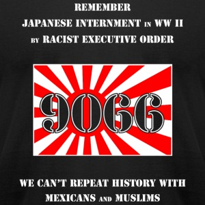Japanese - Japanese Internment in WW II - Men's T-Shirt by American Apparel