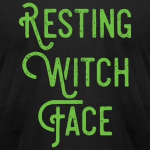 Witch - Resting Witch Face - Men's T-Shirt by American Apparel