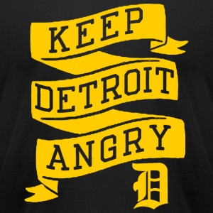 Detroit - Keep Detroit Angry - Men's T-Shirt by American Apparel