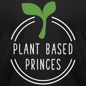 Vegetarian - Plant based princess - Men's T-Shirt by American Apparel