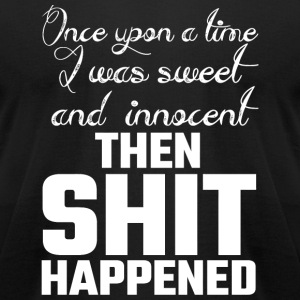 Angel - Once Upon A Time I Was Sweet And Innocen - Men's T-Shirt by American Apparel