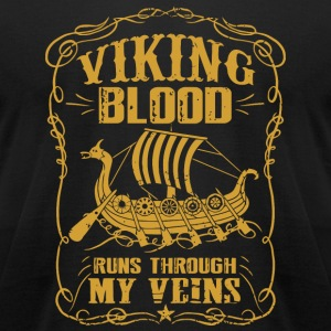 Viking - Viking blood runs through my veins - Men's T-Shirt by American Apparel