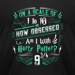 How obsessed am I with Harry Potter? - Men's T-Shirt by American Apparel