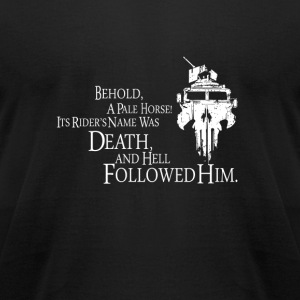 Revelation - Behold a pale horse! - Men's T-Shirt by American Apparel