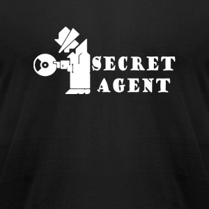 Secret - secret agent - Men's T-Shirt by American Apparel