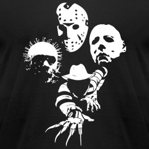 Jason voorhees - Horror Icons - Men's T-Shirt by American Apparel