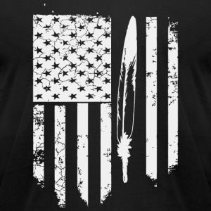 Native american - Native American Veteran s for - Men's T-Shirt by American Apparel