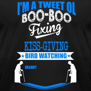 BIRD - BIRD WATCHING - Men's T-Shirt by American Apparel