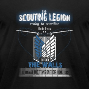 Scouting legion - Ready to sacrifice their lives - Men's T-Shirt by American Apparel