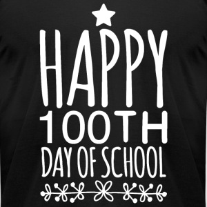 100th day of school - 100th Day of School - Happ - Men's T-Shirt by American Apparel