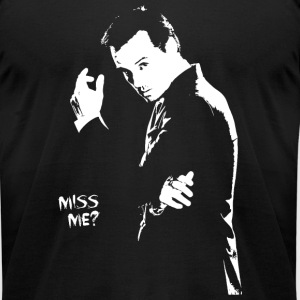 Sherlock holmes - Miss me? - Men's T-Shirt by American Apparel