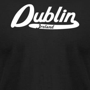 Dublin Ireland Vintage Logo - Men's T-Shirt by American Apparel