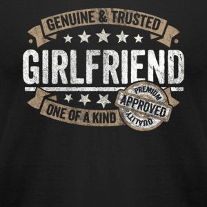 Girlfriend Gift Trusted Family Member Shirt - Men's T-Shirt by American Apparel
