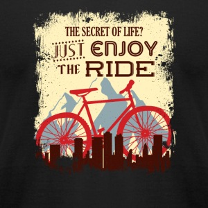 Fahrrad Enjoy the ride - Men's T-Shirt by American Apparel