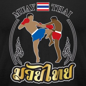 MUAY THAI - Men's T-Shirt by American Apparel