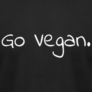 Go Vegan. - Men's T-Shirt by American Apparel