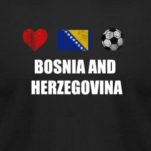 Bosnia and Herzegovina Football Shirt - Bosnia and - Men's T-Shirt by American Apparel