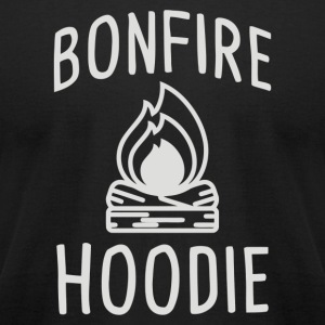 Bonfire Hoodie - Men's T-Shirt by American Apparel